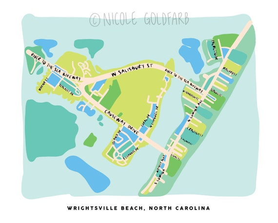 Wrightsville Beach Map, Wrightsville Beach Print, North Carolina Coast, on carolina coastal map, virginia coast map, vermont coast map, southwest florida coast map, gulf coast map, oak island map, north washington coast map, northeast coast map, fl coast map, s california coast map, portland coast map, sw florida coast map, emerald isle map, south jersey coast map, western florida coast map, northern maine coast map, north oregon coast map, north california coast map, israel coast map,