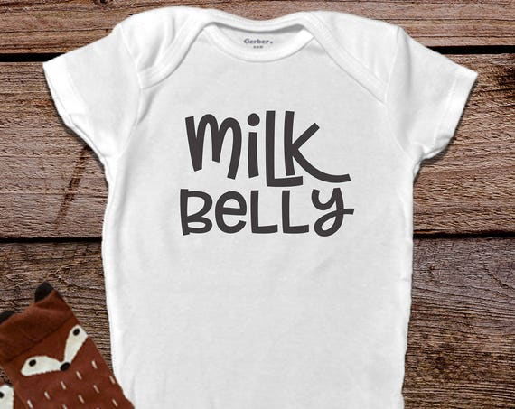 Milk Belly Onesie®, Funny Baby Onesies®, Boy Onesies®, Girl Onesies®, Funny Baby Gift, Boho Baby, Funny Baby Clothes, Trendy Baby Clothes