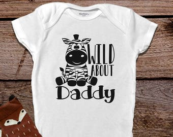 Daddy Onesies®, Funny Baby Onesies®, Zebra Baby Clothes, Baby Girl Clothes, Funny Baby Clothes,Fathers Day Onesie®, Baby Boy Clothes