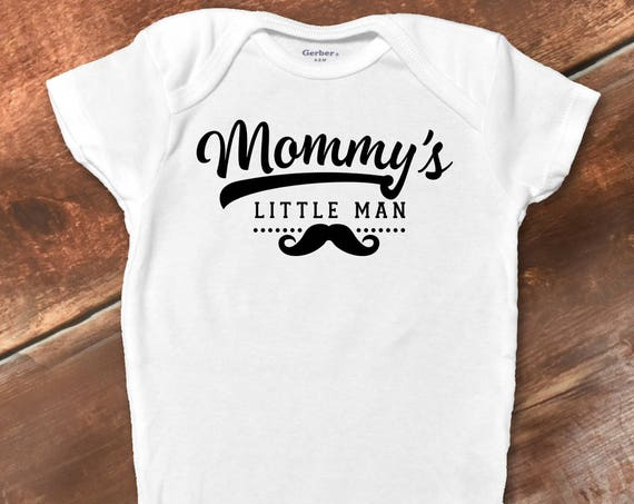 Funny Baby Onesies® Bodysuit, Baby Boy Clothes, Funny Baby Gift, Cute Baby Boy Clothes, Funny Baby Clothes, Mother's Day Shirt, Mama's Boy