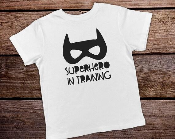 Superhero in Training Toddler Shirt, Funny Toddler Shirt, Boy Toddler Shirts, Funny Kids Shirts,Toddler Boy Clothes, Hipster Toddler Clothes