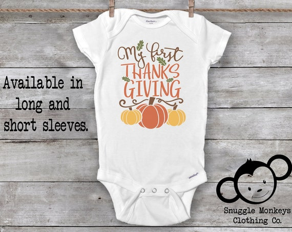 First Thanksgiving Onesie®, Little Turkey Onesie®, Turkey Baby Clothes, Turkey Baby Onesie®, First Thanksgiving Outfit, First Turkey Day