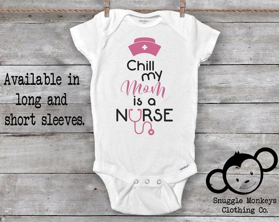 My Mom is a Nurse Onesie®, Future Nurse Onesie®, Baby Girl Clothes, Mom Nurse Onesie®, Mom Onesies®, Nurse Baby Shower