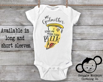 6a342620e Godmother Onesie®, Godmother Baby Clothes, Baby Shower Gift, Cute Baby  Clothes, Godmother Gift, My Godmother Loves Me Onesie®