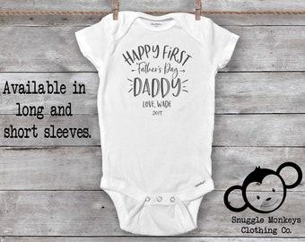 First Father's Day Onesie®, Daddy's Drinking Buddy, I Love Daddy Onesie®, Dad Onesie®, Daddy Baby Clothes, New Dad Gift, Daddy Day Onesie®
