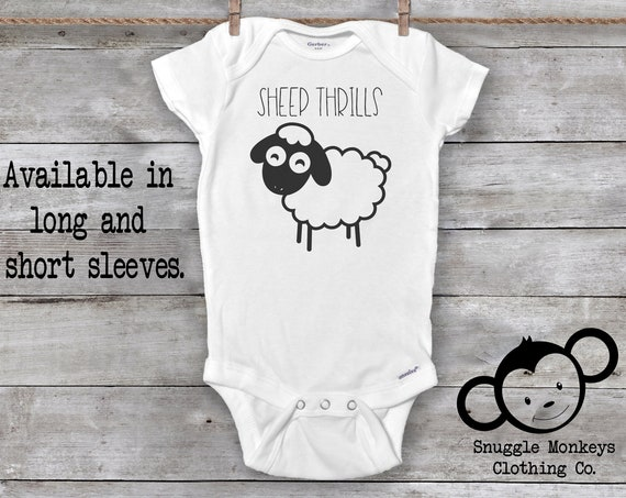 Sheep Onesie®, Farmer Onesie®, Country Baby Clothes, Farm Animal Onesie, Farm Baby Gift, Sheep Baby Clothes, Pun Onesie, Country Baby Shower