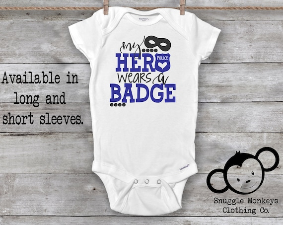 Police Baby Onesie®, Cop Baby Onesie®, Baby Shower Gift, Police Baby Outfit, Mom Police Officer, Dad Police Officer, Cute Baby Clothes