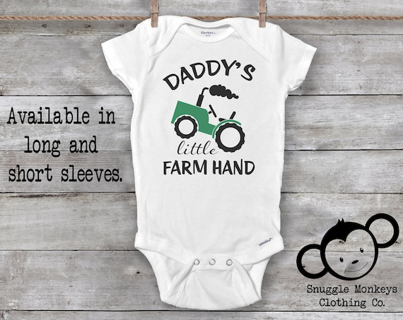 Tractor Onesie®, Farm Onesie®, Farm Baby Clothes, Baby Boy Clothes, Baby Shower Gift, Country Baby Clothes, Tractor Baby Clothes