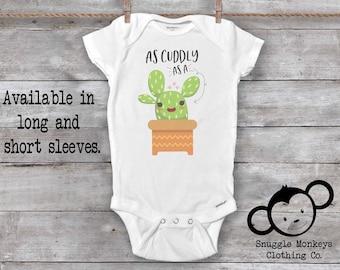 Cactus Onesie®, Funny Baby Onesie®,  Baby Cactus Onesie®, Cactus Baby Clothes, Baby Shower Gift, Unique Baby Gift, Cute Baby Onesie
