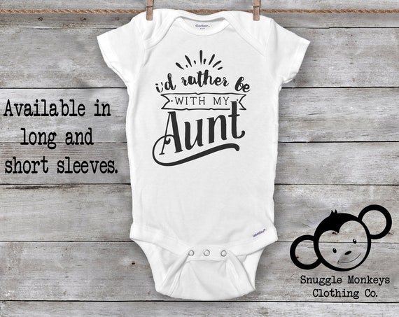 Aunt Onesies®, Auntie Onesies®, My Aunt Loves Me Onesie®, I Love My Aunt, Baby Gift From Aunt, Cute Baby Clothes, Baby Shower Gift, Unisex