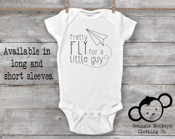 Pretty Fly for a Little Guy Onesie®, Hipster Baby Onesie, Funny Baby Onesie, Baby Boy Clothes, Baby Shower Gift, Trendy Baby Clothes