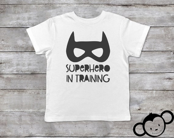 Superhero in Training Toddler Shirt, Funny Toddler Shirt, Boy Toddler Shirts, Funny Kids Shirts,Toddler Boy Clothes, Hipster Toddler Clothes