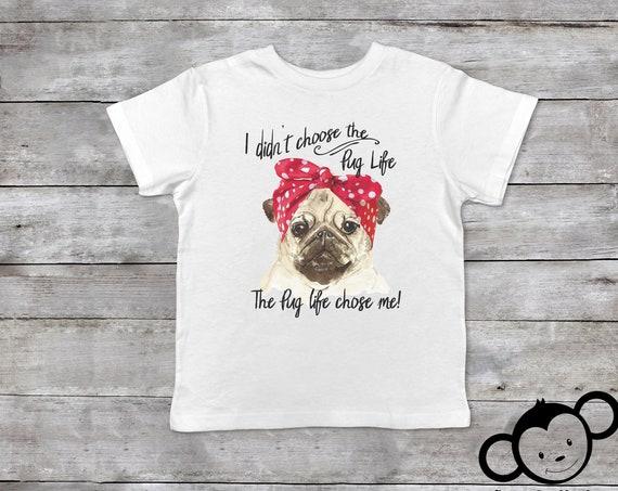Pug Life Shirt, Dog Toddler Shirt, My Siblings have paws, Funny Toddler Shirt, Cute Toddler Girl Shirt, Pug Shirt Kids, Toddler Girl Clothes
