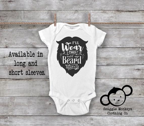 Dad Beard Better Funny ShirtCool Baby Gift Idea Cute Edgy Gerber Onesies