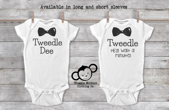 Funny Twin Onesies®, Funny Baby Onesie®, Twin Baby Gift, Baby Shower ,Twin Baby Clothes, Twin Baby Outfit, Twin Boy Clothes, Funny Twin Gift