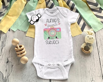 My Aunt Loves Me Onesie®, Aunt Onesie®, Auntie's Favorite, Aunt Baby Clothes, Pregnancy Reveal, Auntie To Be, Baby Shower Gift