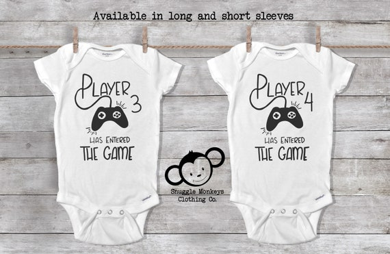 Twin Onesies®, Twin Baby Gift, Funny Twin Onesie, Twin Baby Shower, Twin Baby Clothes, Twice the Blessings, Cute Twin Outfit, Double Trouble