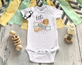 Food Onesie®, Little Burrito, Funny Baby Onesies, Baby Shower Gift, Cute Baby Onesies, Hipster Baby, Taco Bout Cute, Fiesta Baby Shower