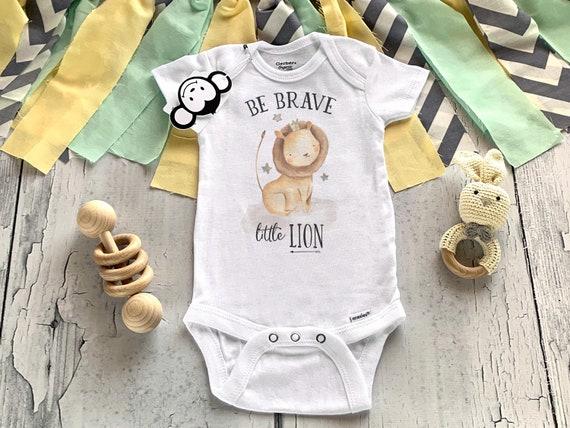 Be Brave Little One onesie
