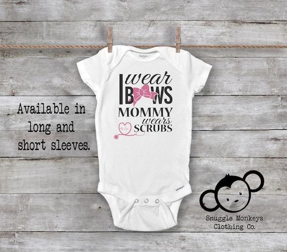 69d1e0dda1b3 Cute Baby Girl Onesie® Nurse Onesies® Nurse Baby Clothes