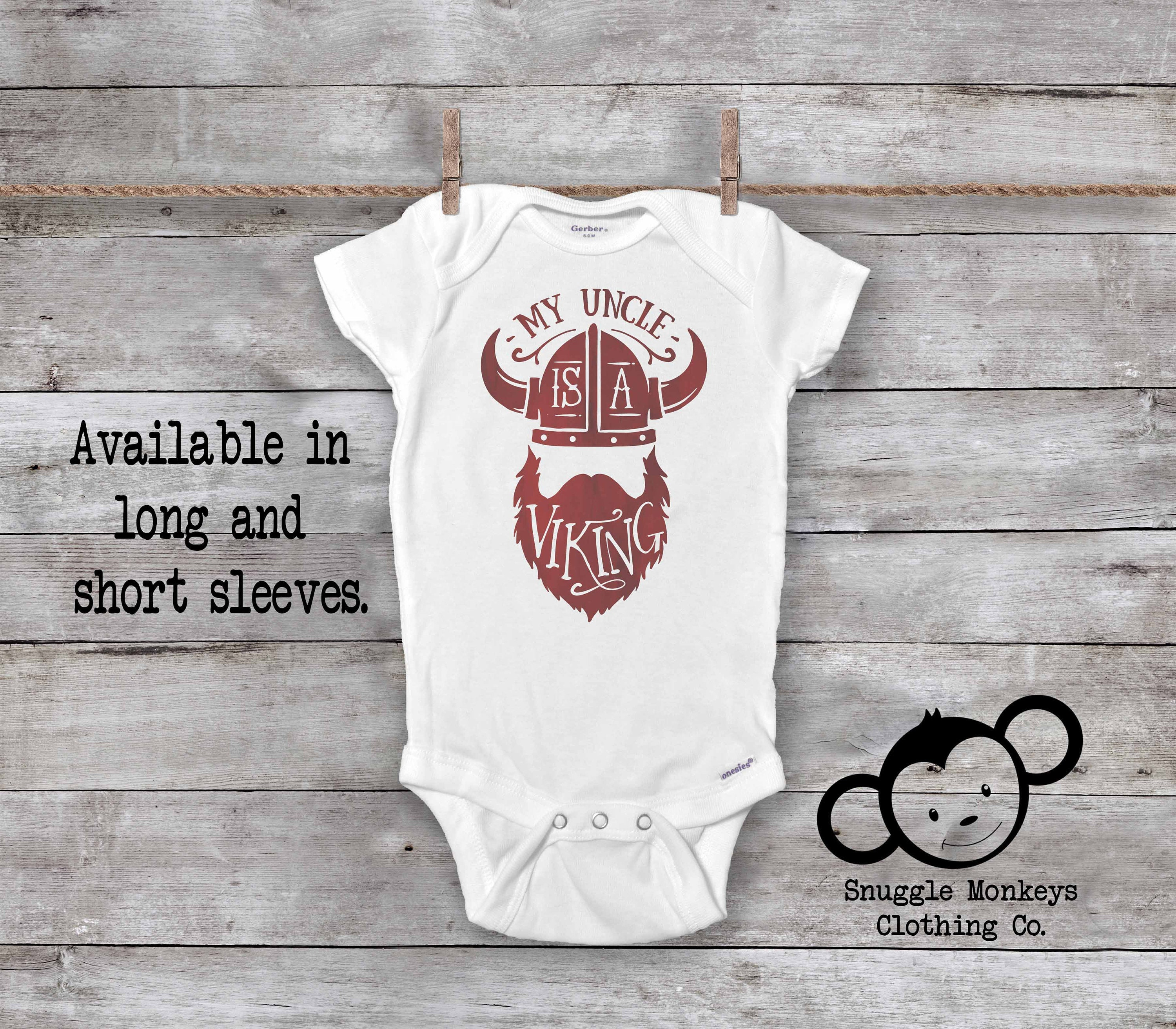 63194dad Viking Onesie®, Nordic Baby Clothes, Baby Boy Clothes, Viking Baby Clothes,  Unique Gifts for Baby Boys, Baby Shower Gift, Uncle Onesie®