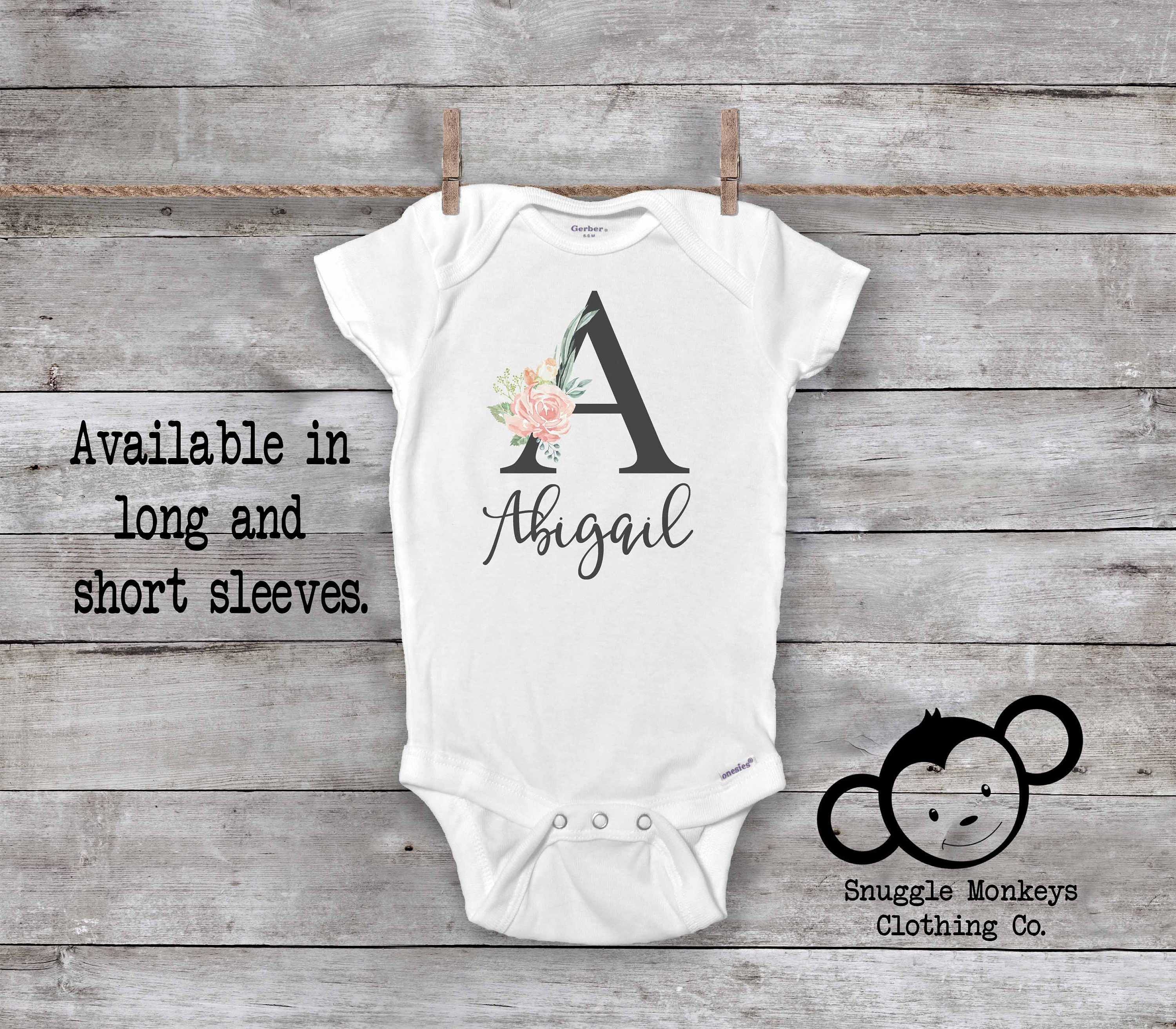 personalized baby gift baby shower gift Personalized baby onesie coming home outfit custom baby onesie custom baby gift