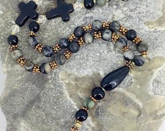 Earth energy Prayer Beads