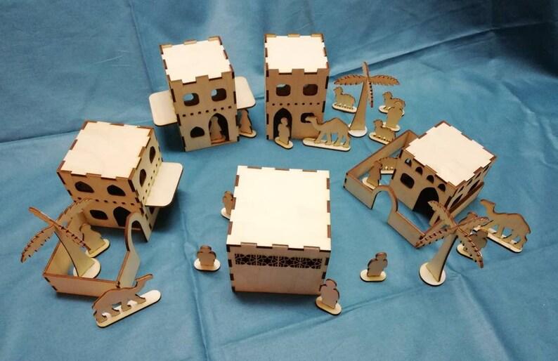 Laser cut Mecca city, Muslim toys games, islamic role play, islamic 3D  puzzle, islamic DIY Mecca city, Muslim kids gift, Ramadan Eid gifts