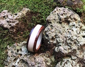 Bentwood Ring - Handcrafted Wood Ring - Custom Made Wood Band