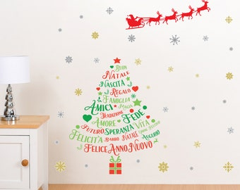 Large Italian Christmas Wall Decor