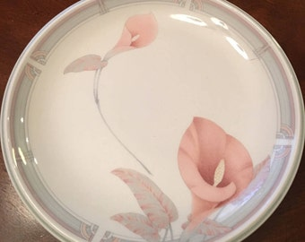 "Noritake ""Eternal Blush"" - Set of 4 Salad Plates - Keltcraft Misty Isle Collection"
