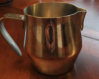 Vintage Stainless Steel Creamer - made in china 18/8