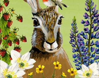 Adventure in the forest • Hare