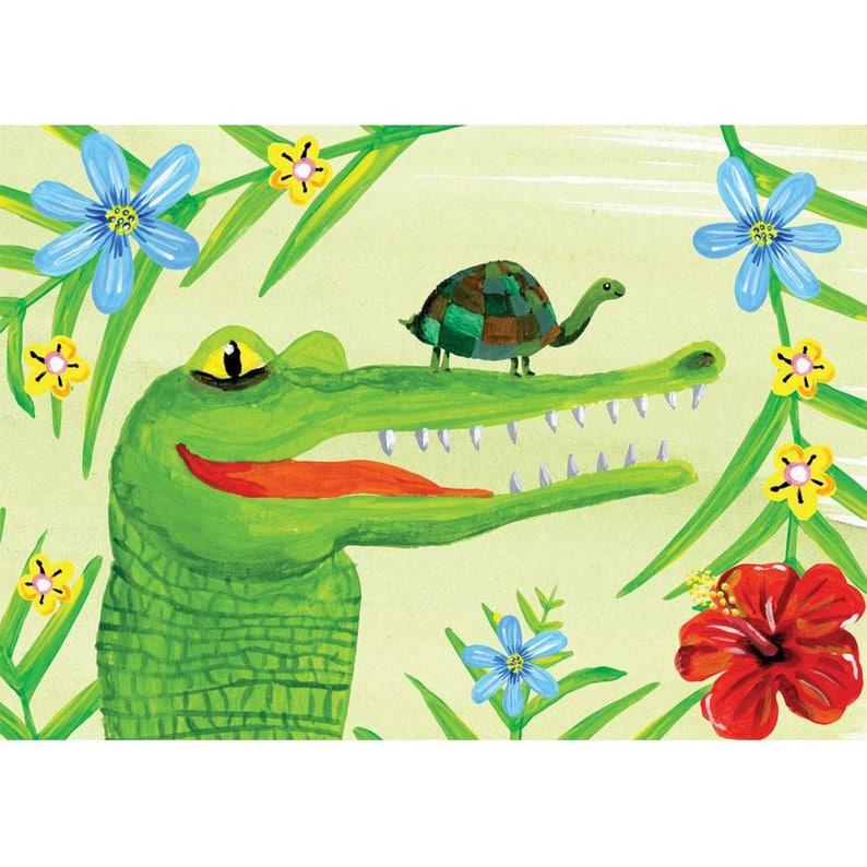Adventure in the Jungle  crocodile image 0