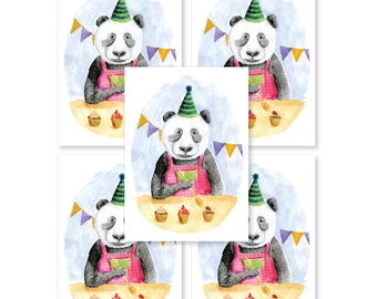 PARTY CARD | set of 5 cards