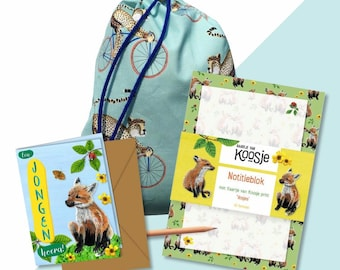 Welcome pack: Hooray a boy!