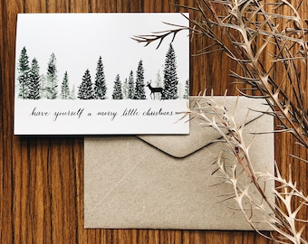 Have Yourself a Merry Little Christmas | Christmas Greeting Card