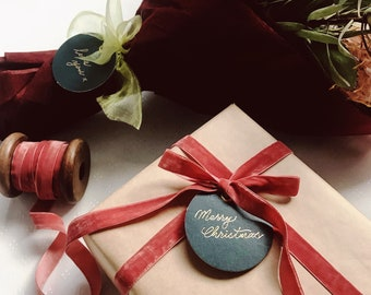 Personalised Handlettered Gift Tag