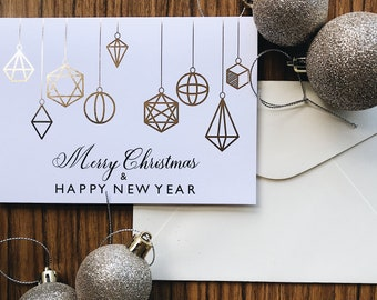 Merry Christmas & Happy New Year | Christmas Greeting Card