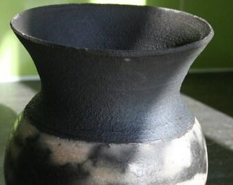 Naked Raku Vase