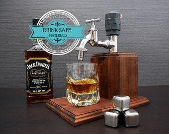 valentines day gift for husband Gift for Men gift Liquor Dispenser boyfriend  whiskey gift 30th birthday gift  for him Liquor Alcohol