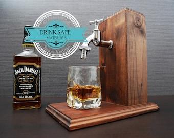 Men valentines day gift Whiskey Dispenser gift birthday  Gift for husband Alcohol gift husband for him Alcohol Whiskey Jack daniels