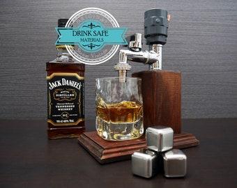 Valentines day gift for him Liquor Dispenser Anniversary gift Gift for husband Whiskey gift Husband  Alcohol Whiskey