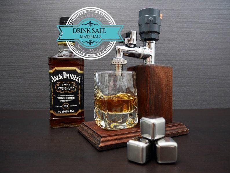 Valentines day gift for him Liquor Dispenser Anniversary gift image 0