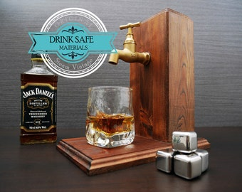 Gift for him Gifts for dad Gift for husband For him valentines day Boyfriend Whiskey Dispenser present Alcohol Whiskey