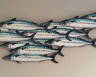 Mackerel shoal