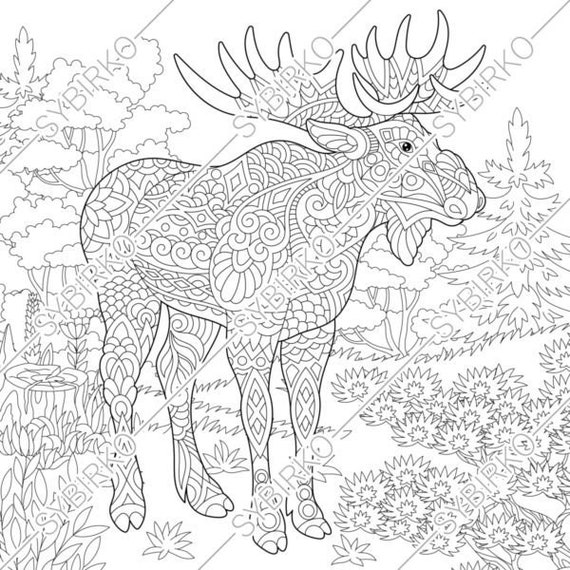Forest Animals Coloring Pages Underground Animals Coloring Pages ... | 570x570