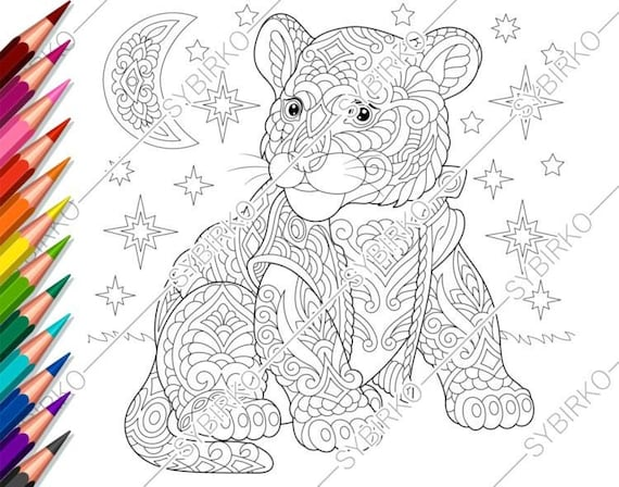 Valentine coloring pages lion | 448x570
