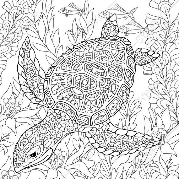 40 Colouring Book Pages Ocean Picture HD