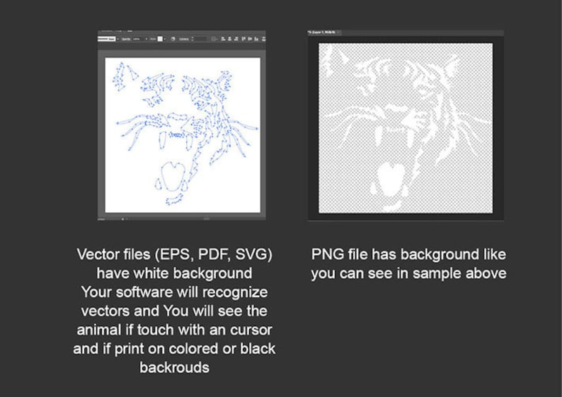 Tiger svg portrait White Print on Black roaring angry tiger in the night vector grapic art artwork digital design cut file cuttable cut file